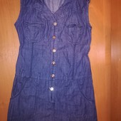 Denim. Джинсовое платье на 9-10лет, на рост 140