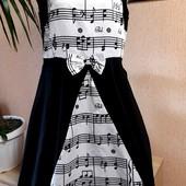 ❤❤❤Суперова сукня з музичними нотами від Hua Lam