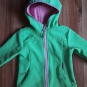 Куртка- кофта KiK (Німеччина) софтшел с флісом р 92