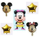 Набор Минни из 5 шаров, одно фото на выбор, подробно в описании.