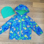 Курточка ветровка на 2-3 года
