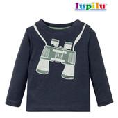 Реглан 100% хлопок от Lupilu®, размер евро 86/92. (замеры в описании)