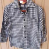 Рубашка для мальчика р.110