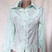 Много лотов! Блуза цвет мятный, остатки из магазина
