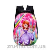Детский рюкзак жесткий с рисунком Принцесса София