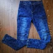 джинсы для девочки на рост 128