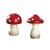 Керамічний декоративні гриби Melinera (15 см) в лоті 2 штуки