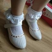 Леопард.нарядные туфельки для девочки.новые.рр.31(18.5см)