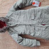 Детская новая куртка на 10-12 лет