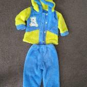 Плюшевый костюм на ребенка 9-12 мес .В идеале.