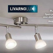 Отличный потолочный светильник на 4 плафона Livarno Lux Германия