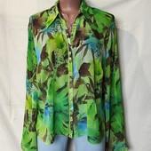 Лёгенькая фирменная блузочка от M&S, грудь-122