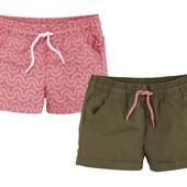 Комплект 2 шт шорты на девочку Lupilu Германия размер 98/104