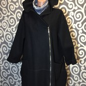 Модное, валяное, шерстяное пальто-кардиган для пышненьких девушек .
