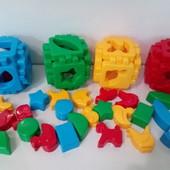 Набор кубиков хорошего качества!