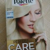 Стойкая крем краска без аммиака с жидким шелком тон 217 серебристый блонд.