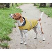 Плащ дождевик с капюшоном собаке размер L или S, светоотражающие детали, водоотталкивающий Lidl