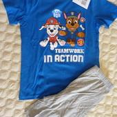 Костюм из хлопка, пижама Щенячий патруль от Disney Германия , размер 98/104