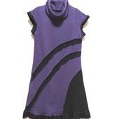 =Яркое теплое платье с высоким воротом Франция, акрил (уп-скидка)