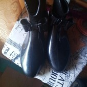 Ботинки резиновые классные 19.5-20 по стельке