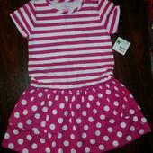 Нове легке стильне літнє плаття з Сша, розмір 5 років