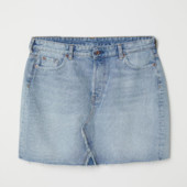 джинсовая юбка H&M 46 евр.
