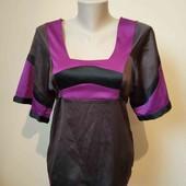 Нова гарна атласна блузка, 10% знижка на УП