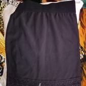 Красивая юбка карандаш 122-140