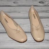 туфли натуральная кожа, Hotter люкс качество! новые, не выношены. читаем описание