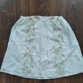 Классная котоновая юбка с вышивкой. Смотрите мои лоты