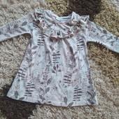 Ніжне котонове плаття для дівчинки!!!