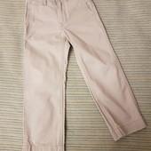 Джинсы коттоновые брюки классика на 6-8 лет