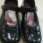 Туфли на липучках 18-18.5см
