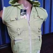 Спортивный костюм с капюшоном: кофта + бриджи (уценка)