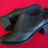 Ботильоны Footglove натур кожа 39 размер (широкая ножка)