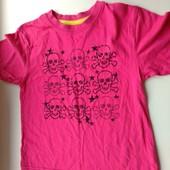 Классная детская футболка, р.110-116 на 5-6 лет,смотрите замеры и описание