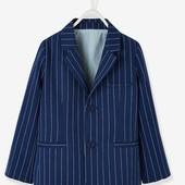 Verbaudet.Пиджак для мальчиков, хлопок / лен на 10лет