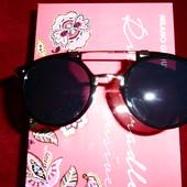 Стильные солнцезащитные очки, черные, в стиле Massada