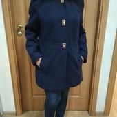 Тепленькое пальто есть замери цвет фото 1