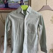 Рубашка хлопок 100% на мальчика 9-10 лет