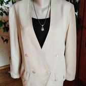 Стильный и элегантный пиджак весна-осень Lecomte, размер - L