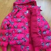Тепла курточка , на флісовій підкладці!!!