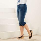 Бриджи капри джинсовые Esmara р.50 евро
