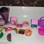 Игрушки для магазина и чаепития , 15шт