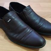 Дорогие кожаные туфли срочно