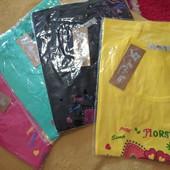 Качественные футболки женские 44-48р.1шт.в лоте, можно докупить,УП-10%