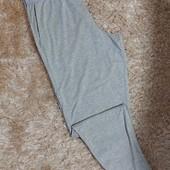 Мужские штаны для дома на манжетах с карманами
