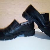 р29(18см).Кожаные туфли для мальчика.