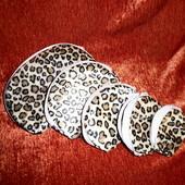 5 косметичек одним лотом, леопардовые