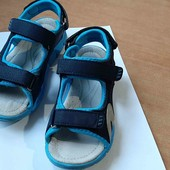 Мягкие и лёгкие сандалии, кожаная стелька 20 см, Clibee, 31р.